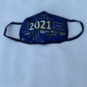 Last 1! New Years 2021 adult size face mask